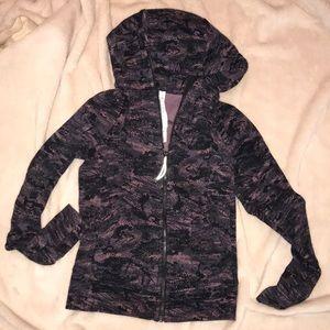 Almos new Lululemon Scuba zip up hoodie size 4